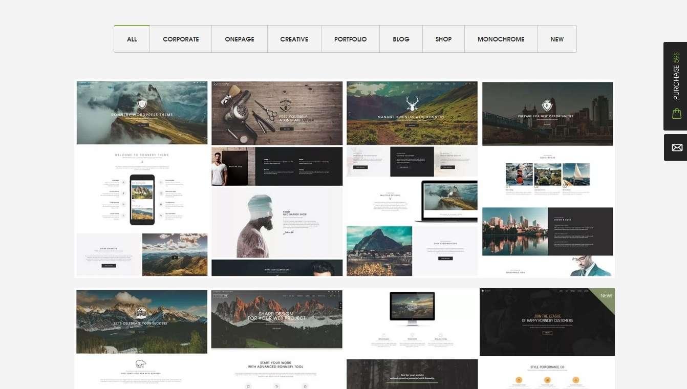 Ronneby - Высоко-эффективные шаблоны сайтов для WordPress