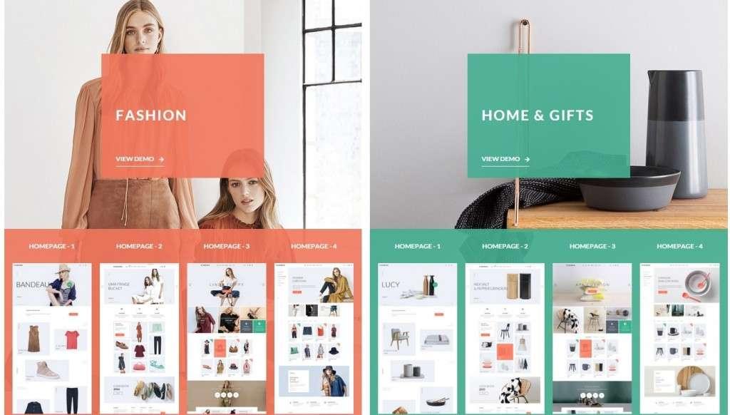 блестящий готовый интернет магазин на WordPress 2016