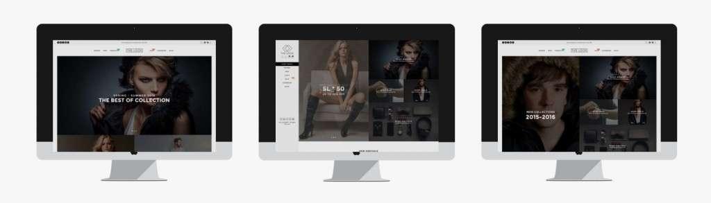 броский шаблон интернет магазина одежды 2016