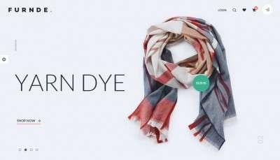 Шаблон интернет магазина одежды 2016