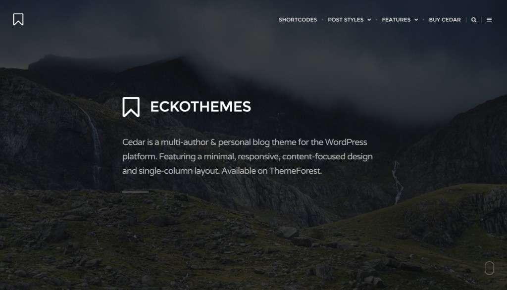 впечатлющие WordPress blog премиум шаблоны для блога 2016