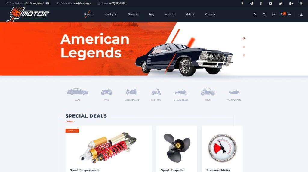 готовый интернет магазин на WordPress купить и скачать недорого с полноценным функционалом 09