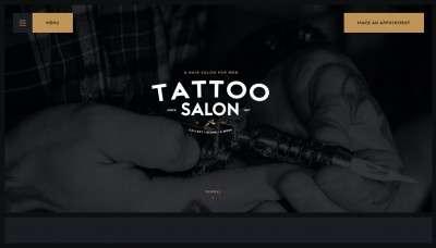 Шаблоны для сайта тату салона