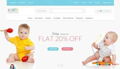 Шаблон детского интернет магазина 2016