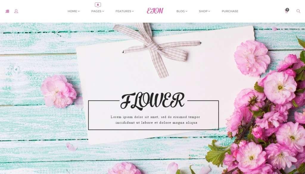 удивительный шаблон магазина цветов 2016 2
