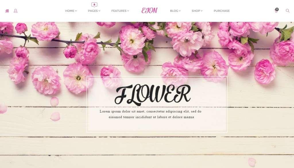 удивительный шаблон магазина цветов 2016 3
