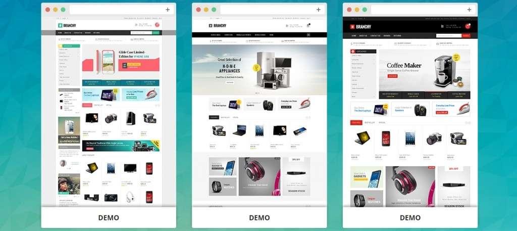 Wordpress Ecommerce универсальные 500 шаблонов для онлайн магазина