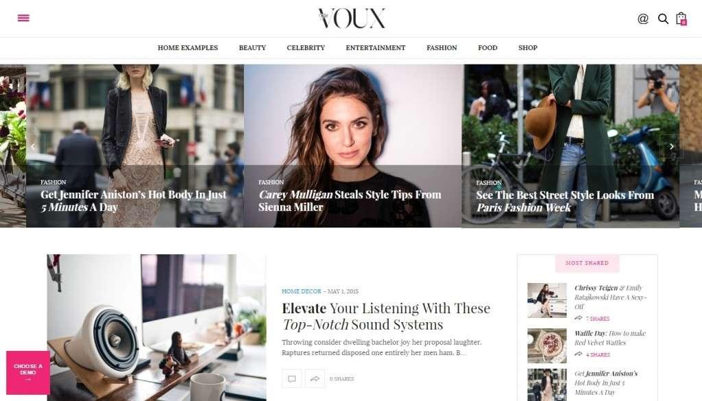 блестящие популярные шаблоны WordPress 2016