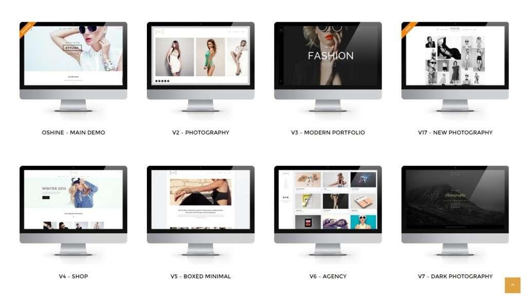 красивые популярные шаблоны WordPress 2016