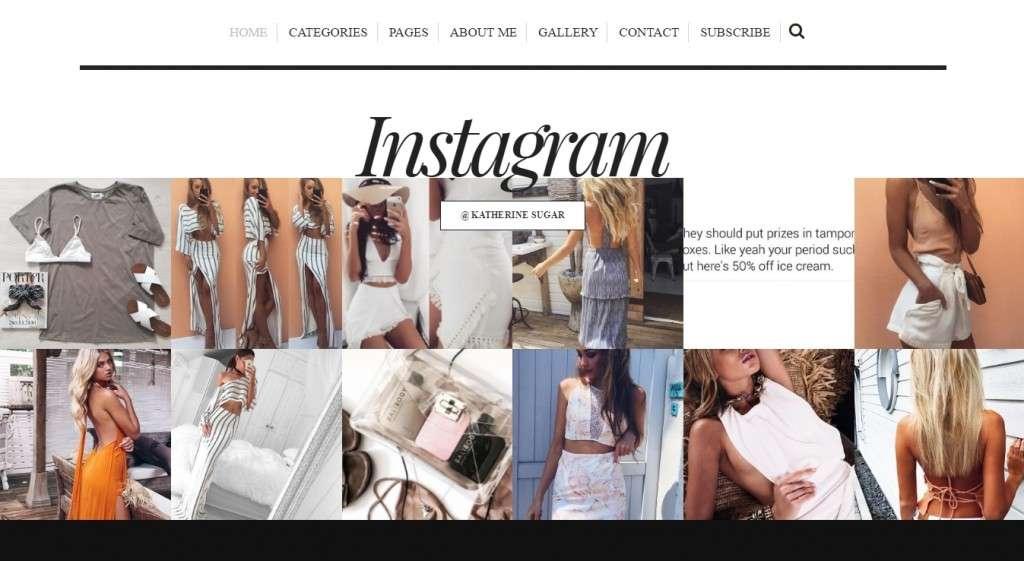 бесподобные WordPress Instagram шаблоны и плагины 2016