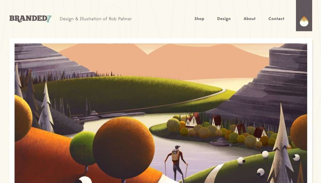 10 лучших сайтов на WordPress с потрясающим дизайном – Подборка редакции InBenefit 3