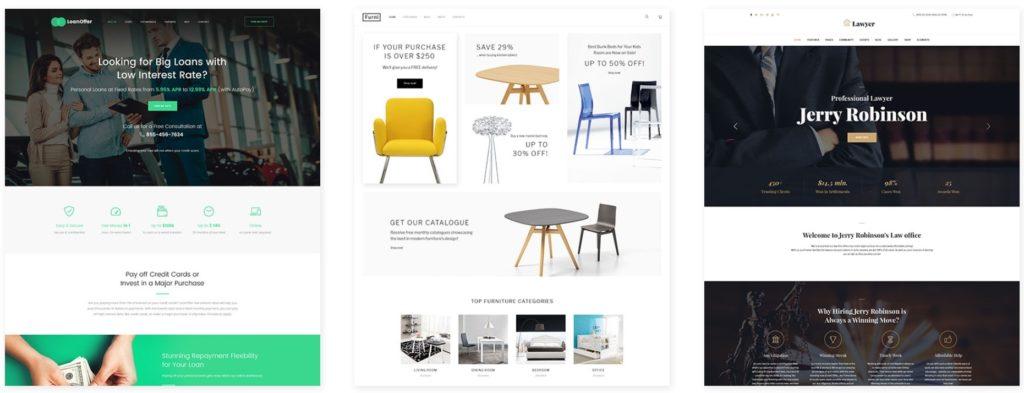 10 лучших сайтов на WordPress с красивым дизайном 01