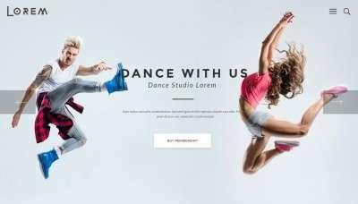 Шаблоны WordPress для школы танцев, танцевальной студии и клуба