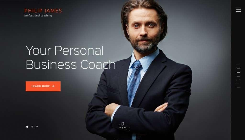 качественные WordPress шаблоны для коучинга, бизнес-тренера и ментора 2016