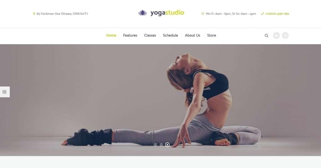 красивые шаблоны WordPress для школы танцев, танцевальной студии и клуба
