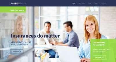 WordPress шаблоны страховой компании 2016