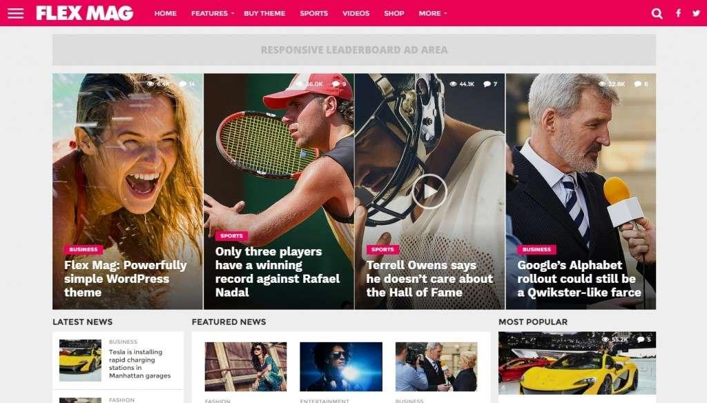 великолепные шаблоны WordPress СМИ - новостные темы WordPress 2016