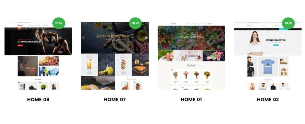 великолепные Shopify шаблоны с премиум дизайном и функциями 2017