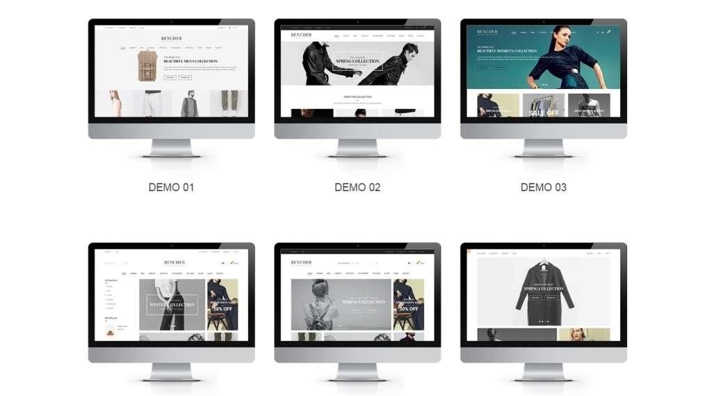 грандиозные темы Magento с премиум дизайном и функциями 2017