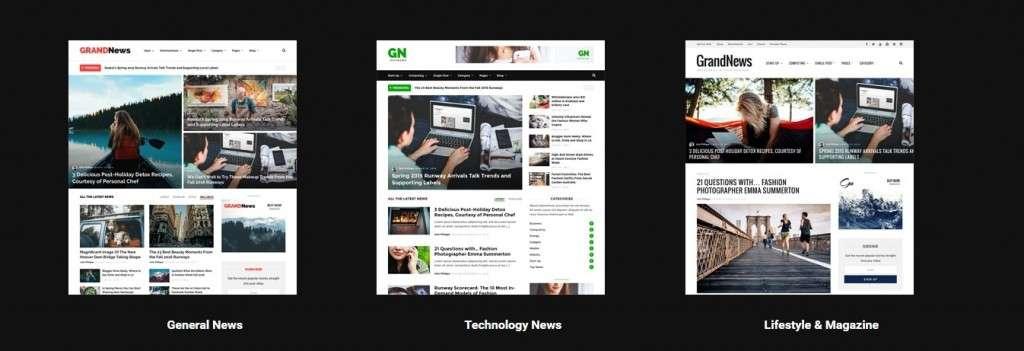 замечательные шаблоны WordPress СМИ - новостные темы WordPress 2016