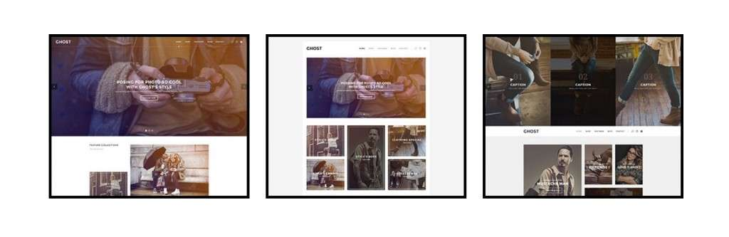 красивые Shopify шаблоны с премиум дизайном и функциями 2017
