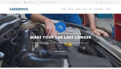 Лучший шаблон автосервиса Joomla для для привлечения клиентов