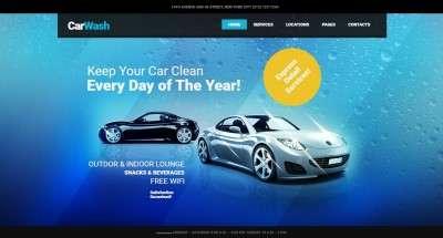 WordPress шаблоны автомойки для привлечения клиентов