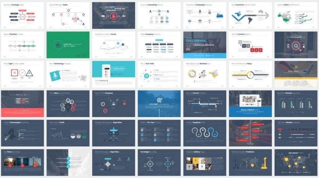 привлекательные Keynote шаблоны с премиум дизайном 2016