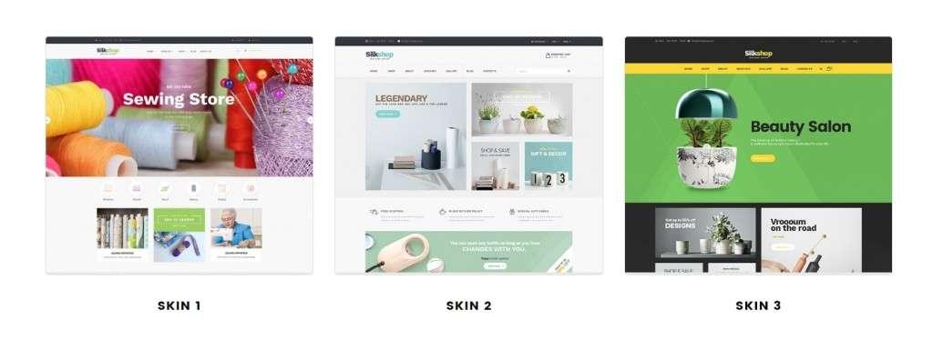 современные Shopify шаблоны с премиум дизайном и функциями 2017