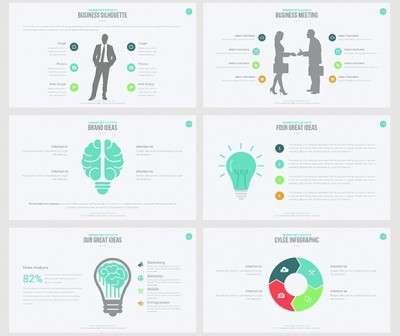 Платные шаблоны PowerPoint для презентаций на высшем уровне