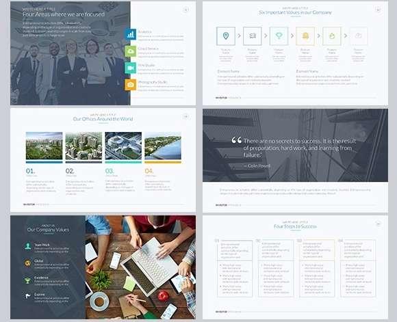 классные платные шаблоны PowerPoint для презентаций на высшем уровне