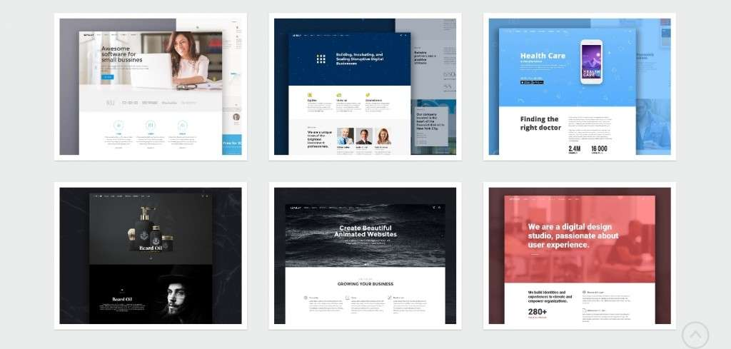 классные шаблоны фотограф для WordPress - премиум дизайн и функции 2017