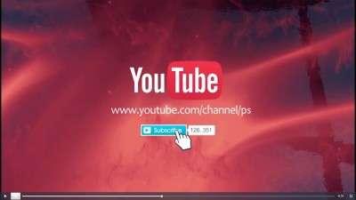 Готовые заставки для видео на YouTube