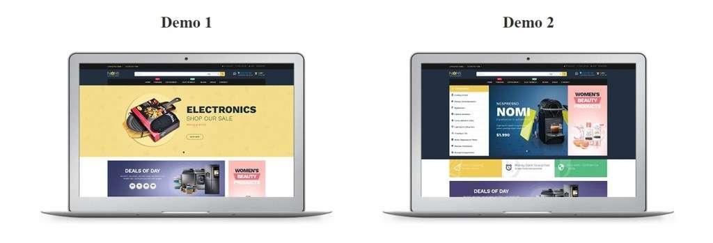 крутые платные шаблоны OpenCart с премиум дизайном и функциями 2017