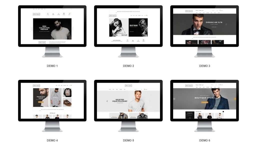 многозадачные HTML шаблоны сайтов