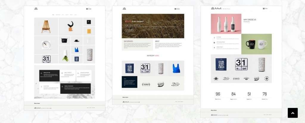 отзывчивые шаблоны фотограф для WordPress - премиум дизайн и функции 2017