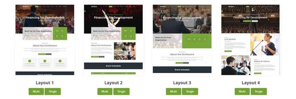 очаровательные HTML шаблоны сайтов