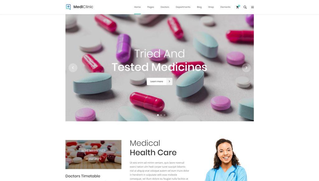 русские WordPress шаблоны медицина с онлайн-записью на прием 10