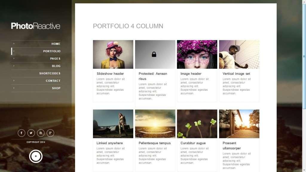 самые лучшие шаблоны фотограф для WordPress - премиум дизайн и функции 2017