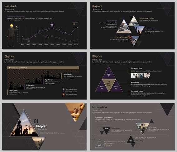 симпатичные платные шаблоны PowerPoint для презентаций на высшем уровне