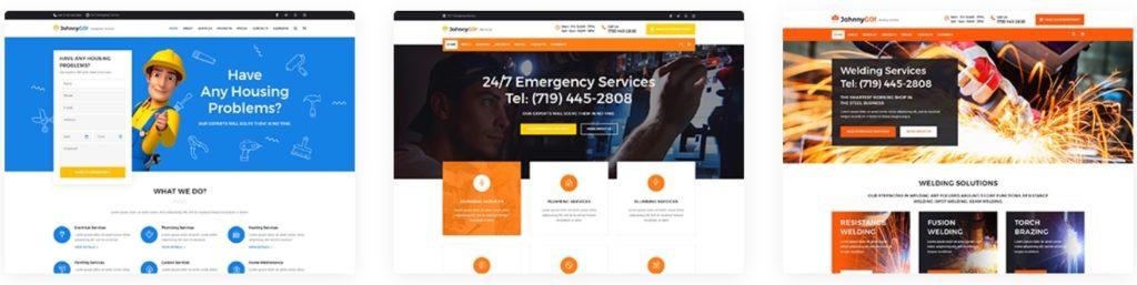 Шаблоны ремонт квартир WordPress – Купить готовый сайт 01