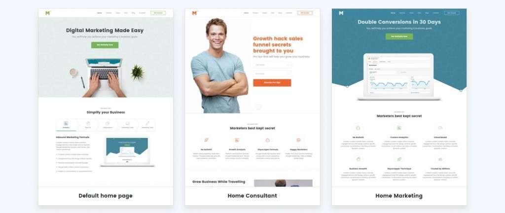 яркие HTML шаблоны сайтов