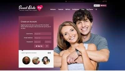 Лучший шаблон сайта знакомств на WordPress 2017