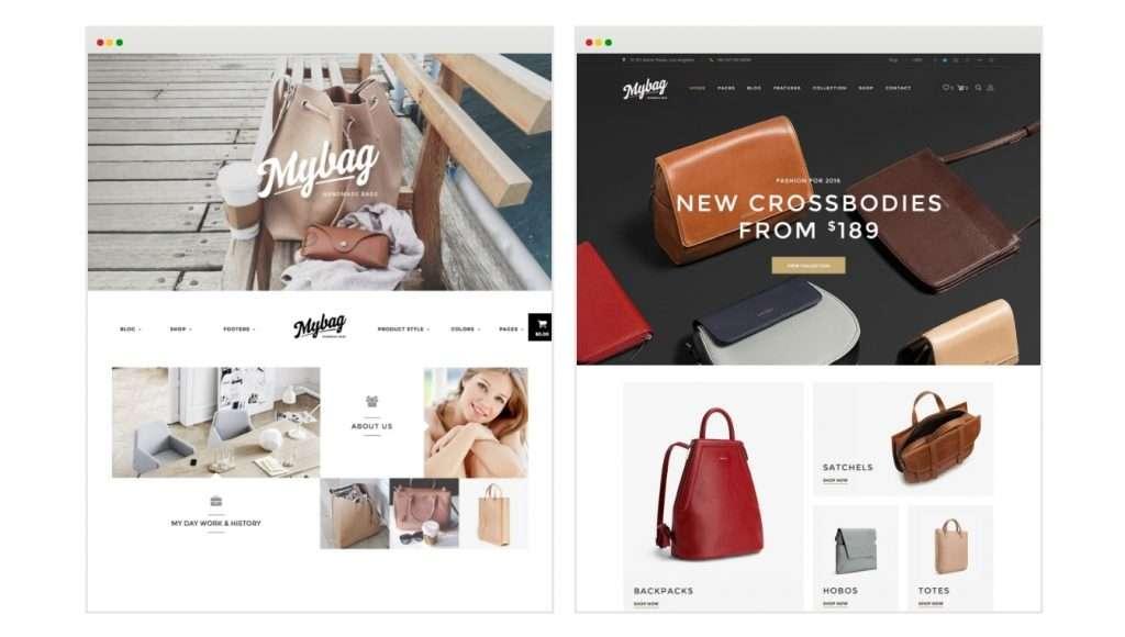 многофункциональный готовый одностраничный интернет магазин WooCommerce 2017