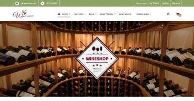 Шаблон винный магазин — готовые интернет-магазины для виноделов