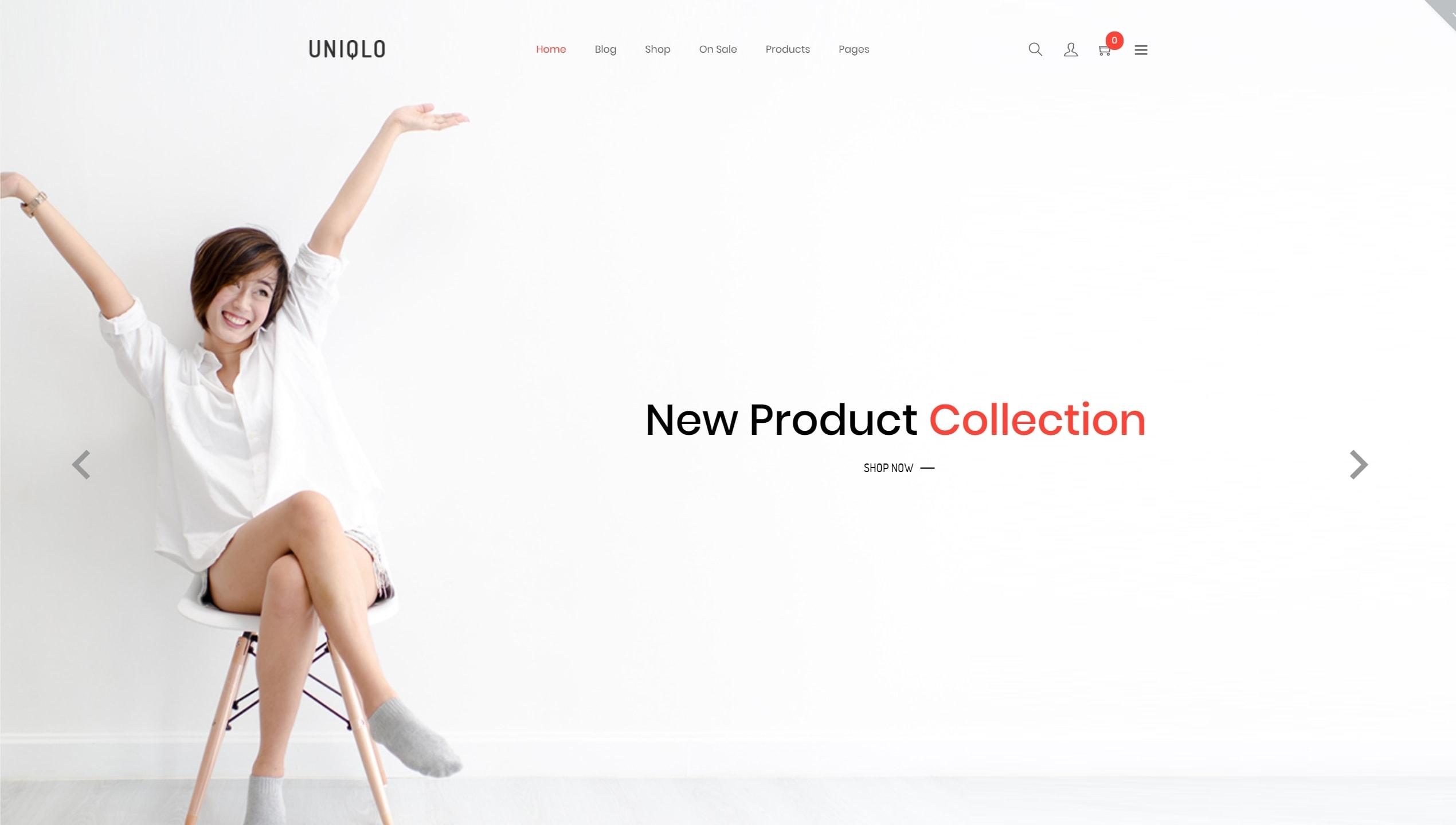 Красивые шаблоны интернет магазинов с лучшим дизайном для успешных продаж