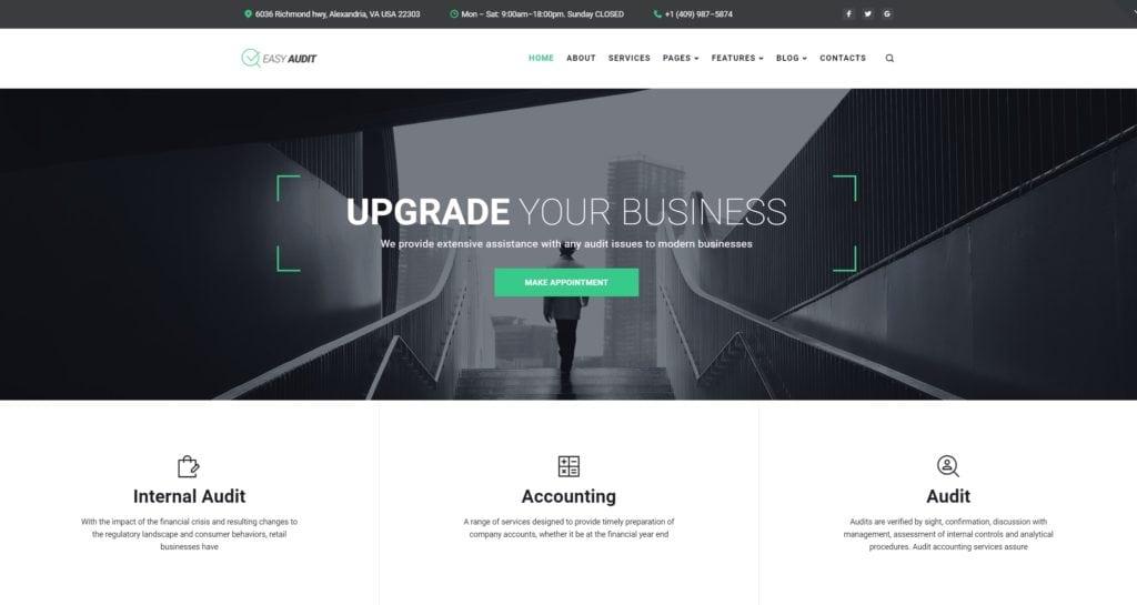 Лучшие корпоративные шаблоны сайтов на WordPress 01