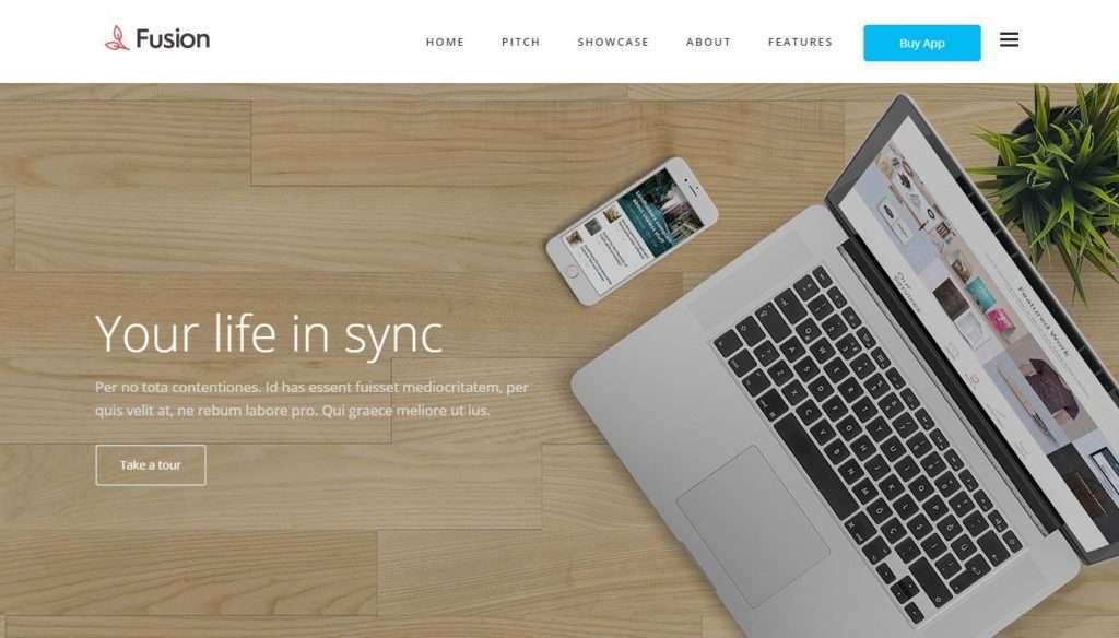 стильный шаблон сайта разработчика 2017