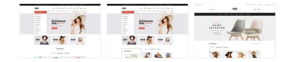 ТОП 10 красивые шаблоны интернет магазинов 2017 08