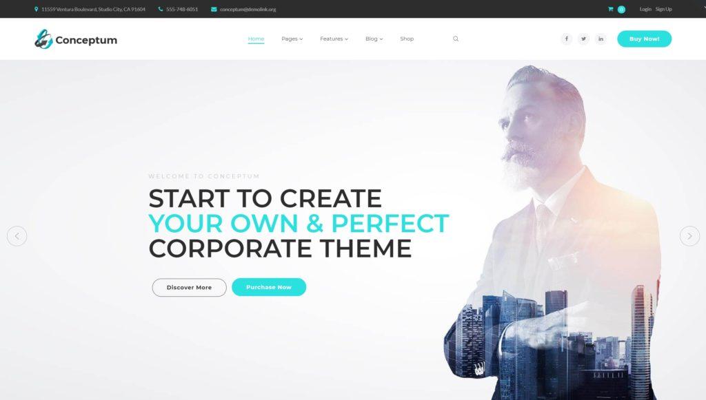 шаблон сайта рекламного агентства с креативным дизайном 02